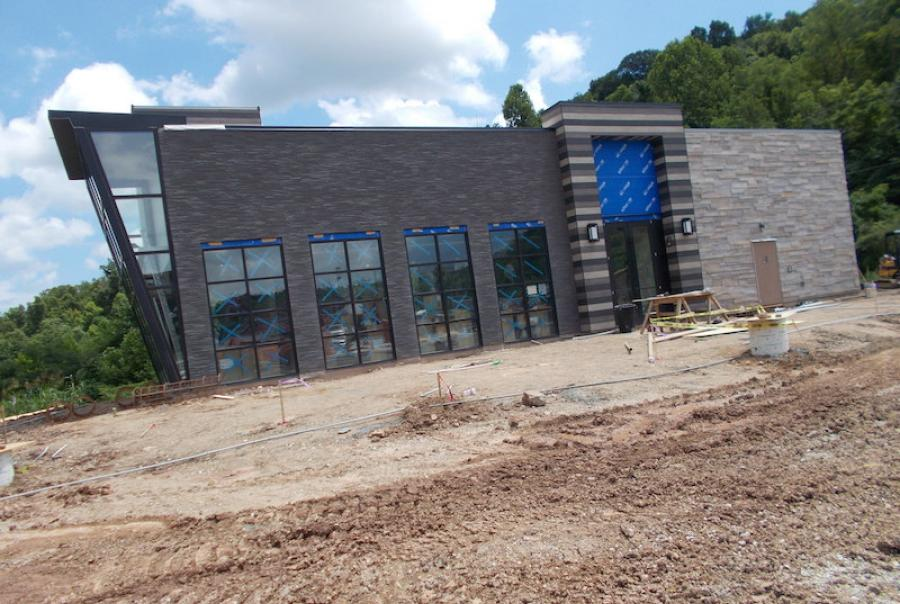 Construction on the project began in September 2018 and is nearing completion.
