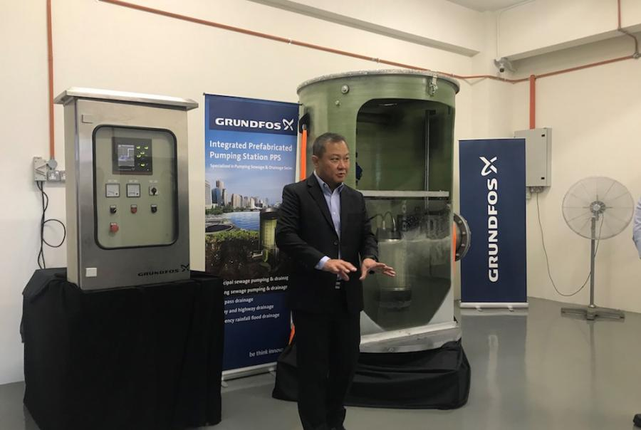 Pumping solution brings flood control to Malaysia