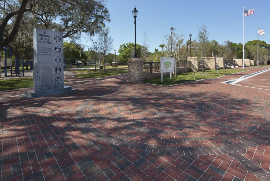 Pine Hall Brick Sutton Park BMP Permeable Paver Brick In Architecture Awards