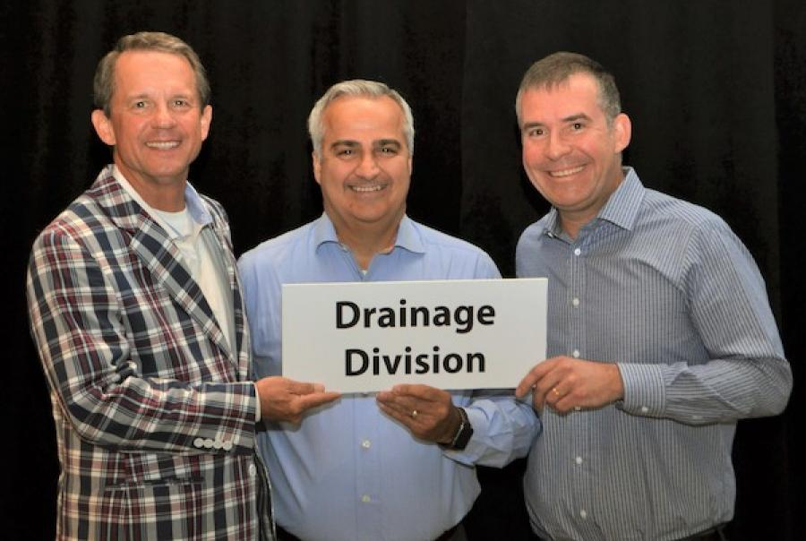 The Plastics Pipe Institute Inc. (PPI) announced that its Corrugated Plastic Pipe Assn. (CPPA) Division has become the Drainage Division of PP
