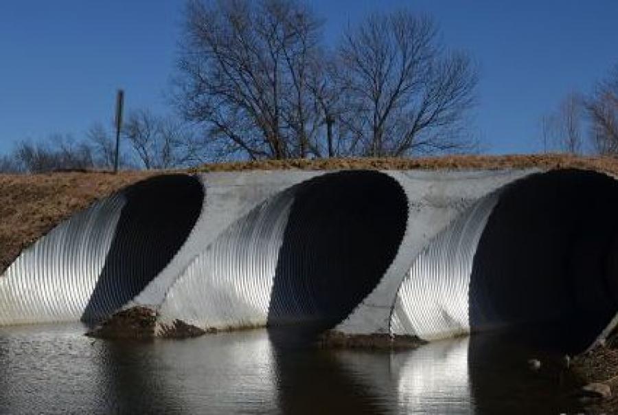 Kansas County Replaces Bridge, Mitigates Flooding