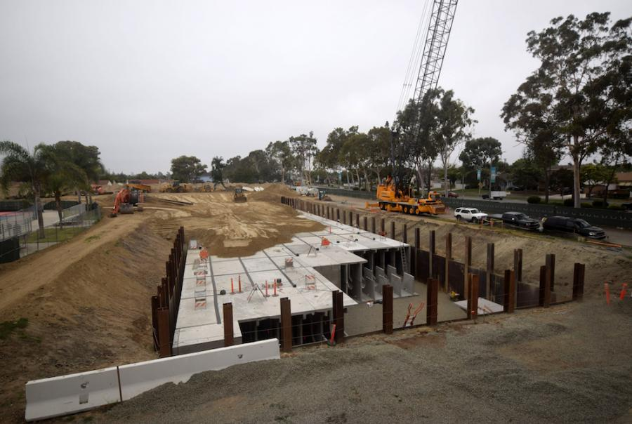 Storm water diversion system manages water use in California