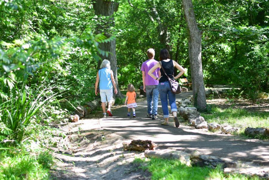 The Nature Discovery Center provides a space for locals to experience and learn about nature.