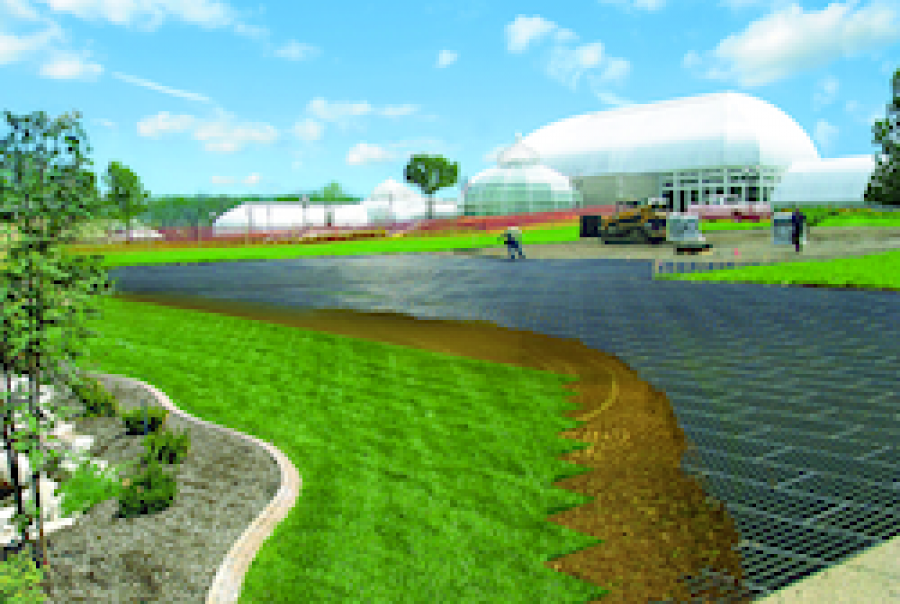 Designs grass pavements for optimal performance
