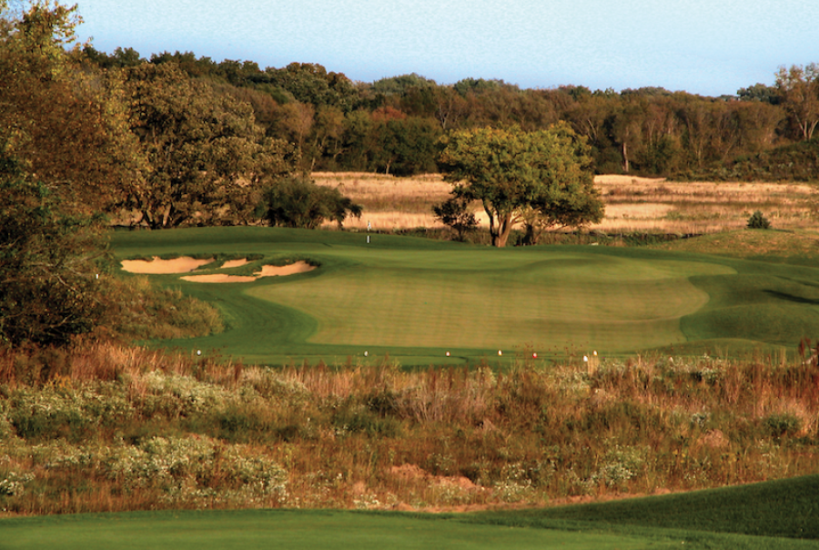 Golf course implements sustainable design to better manage storm water & control erosion