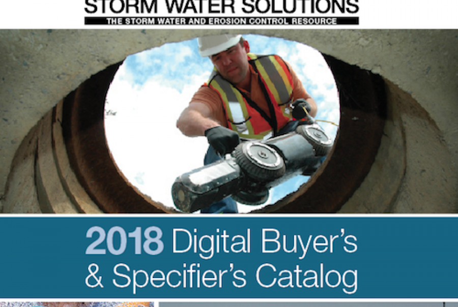 2018 Storm Water Solutions buyer's guide