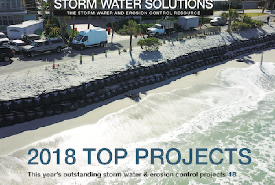 November/December 2018 issue of Storm Water Solutions magazine