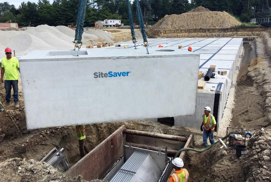 Elementary School Benefits From Storm Water Detention, Treatment Solution