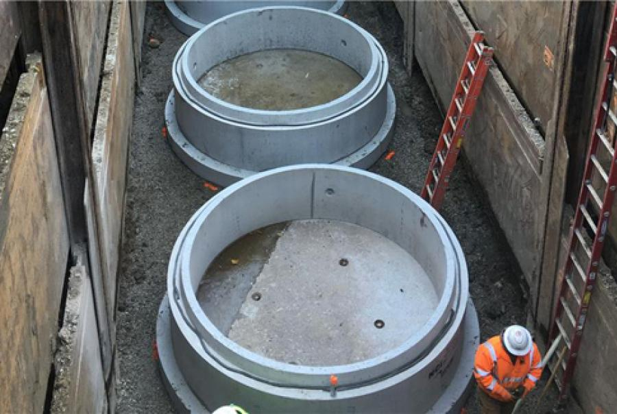 Hydrodynamic Separators Improve Runoff Quality for Ohio Highway Project