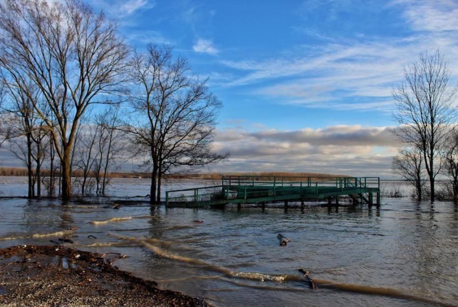 The Mississippi River's run in flood stage hit Louisiana 211 days before ending