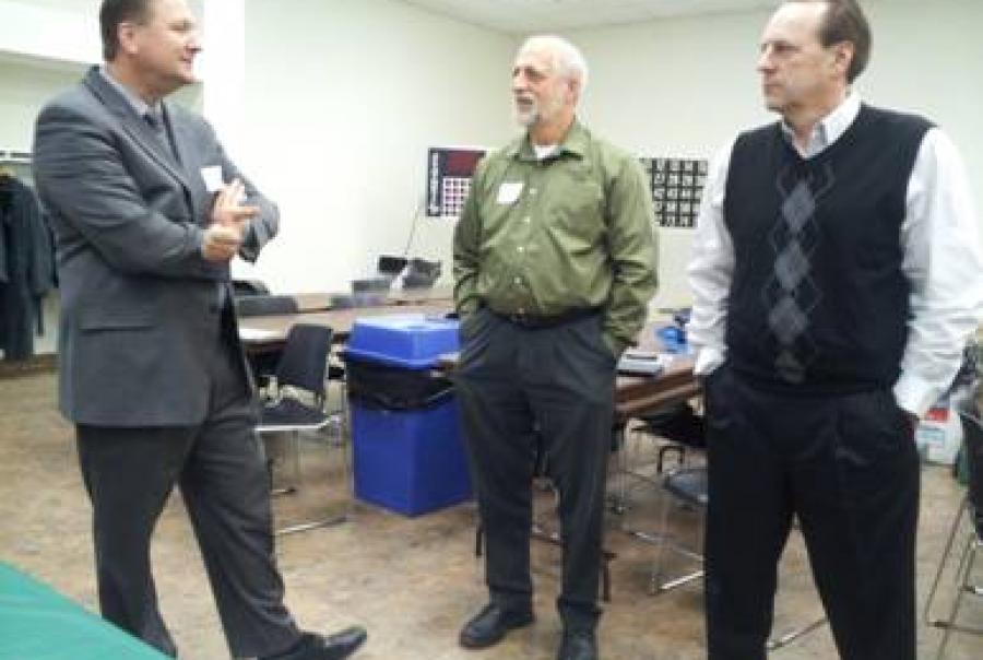 MWRD David St. Pierre Executive Director AWWA Storm water Management Seminar