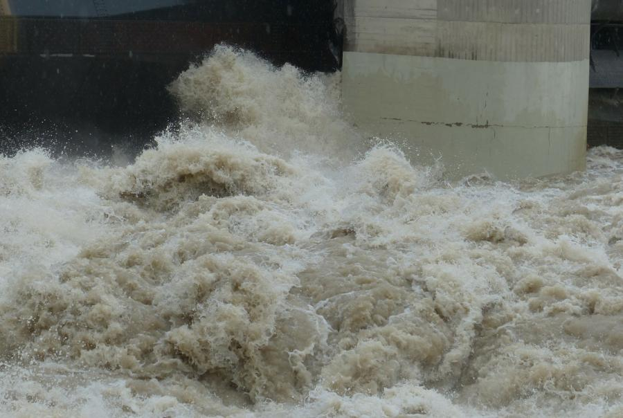 Flash flooding threatens California