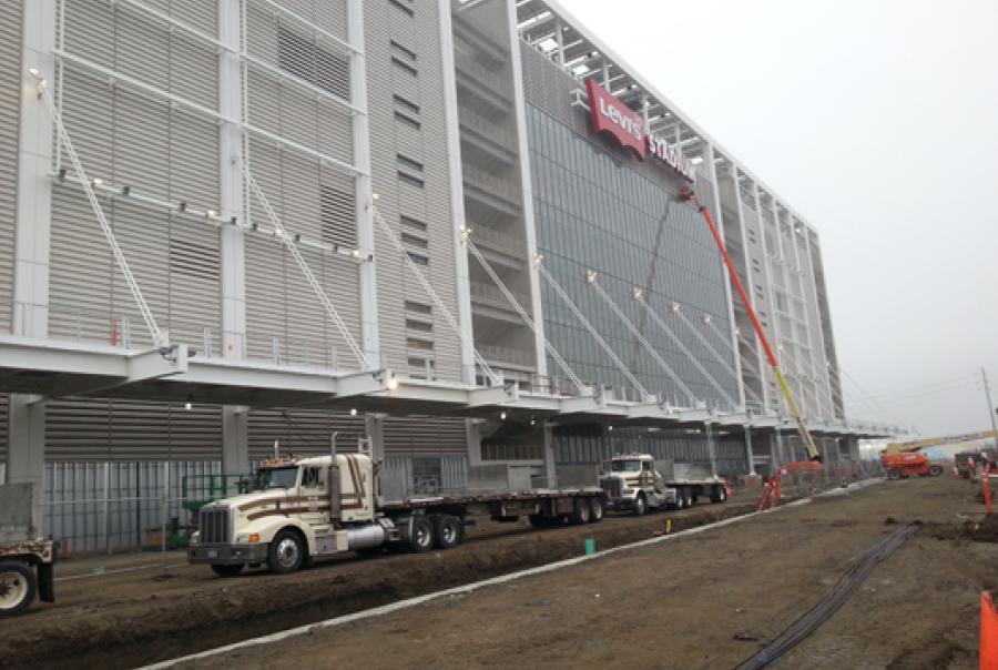 San Francisco NFL stadium installs storm water management system