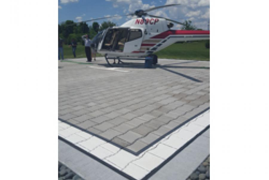 Permeable Paving Surface