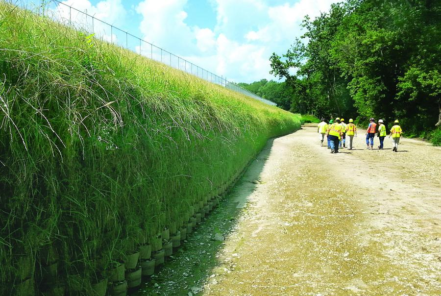 Indianapolis creek reined in by erosion control solution