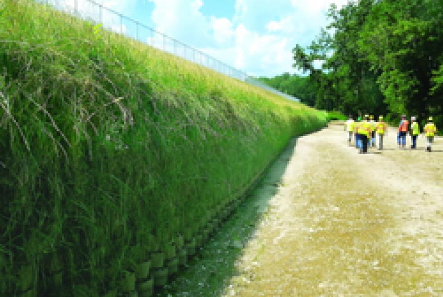 Vegetated Retaining Walls