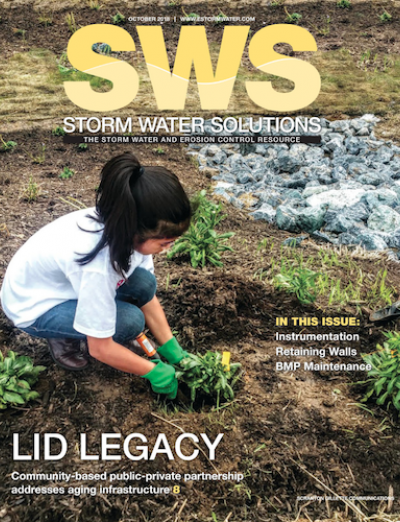 October 2018 issue of Storm Water Solutions magazine