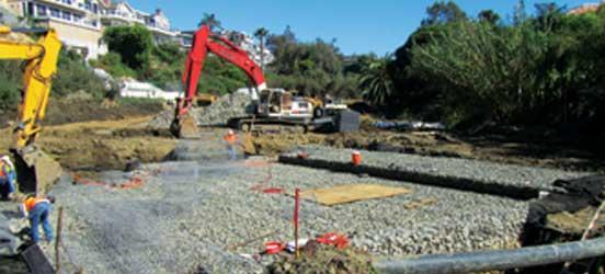 erosion control, channel stability, channel restoration, Newport Beach