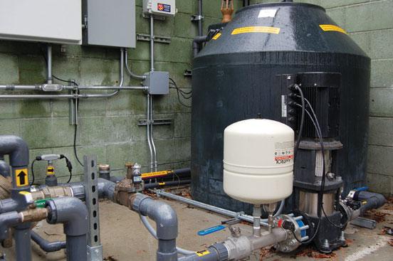 Pico Branch Library Santa Monica California rainwater harvesting