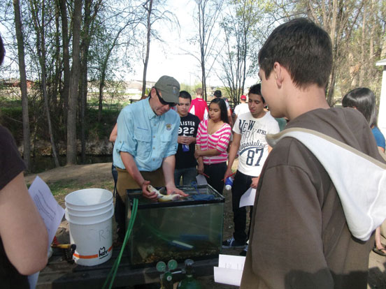 Nampa Idaho storm water pollution public outreach