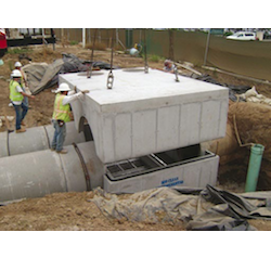 Storm water treatment system from Bio Clean