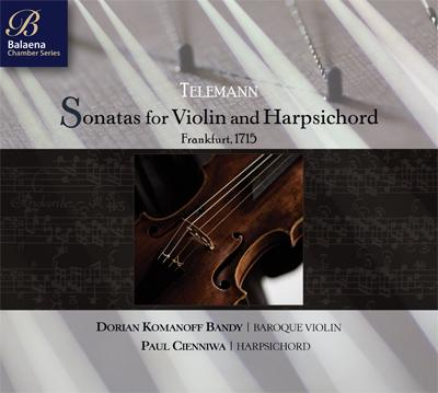 Telemann Sonatas for Violin and Harpsichord