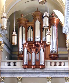Noack organ, Shrine of Our Lady of Guadalupe, La Crosse