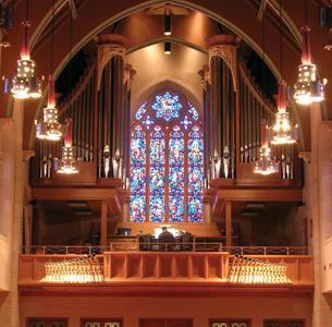 Kegg organ, Zion Lutheran Church, Wausau, Wisconsin