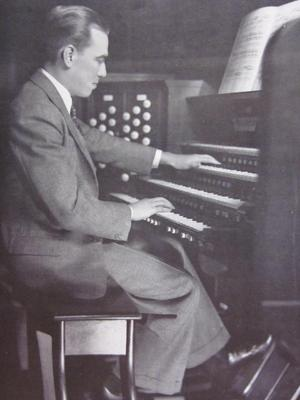 Clarence Mader at Immanuel Presbyterian Church, Los Angeles