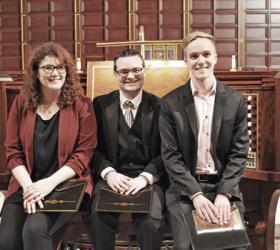 Ilaria Centorrino, Tyler Boehmer, and Joseph Russell (photo credit: Timothy Champion)