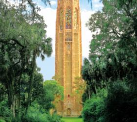 Bok Tower, Lake Wales, Florida (courtesy Bok Tower Gardens)