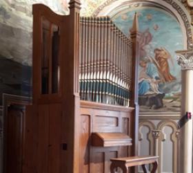Casavant Opus 9, Monastère des Soeurs du Précieux-Sang, Saint-Hyacinthe