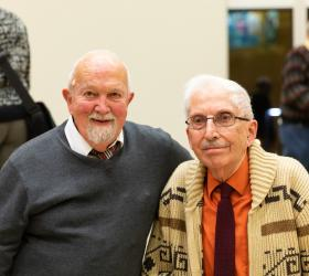 William Eifrig and Philip Gehring (photo courtesy: Valparaiso University)
