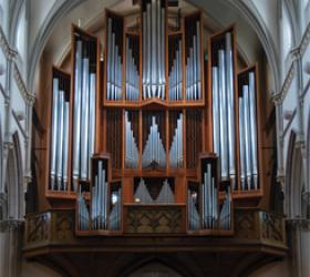 Beckerath organ, St. Paul Catholic Cathedral, Pittsburgh