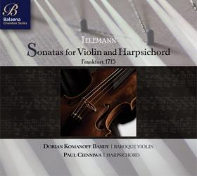 Telemann Sonatas for Violin and Harpsichord