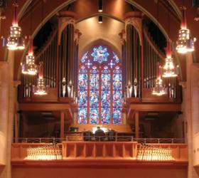 Kegg organ, Zion Lutheran Church, Wausau, Wisconsin