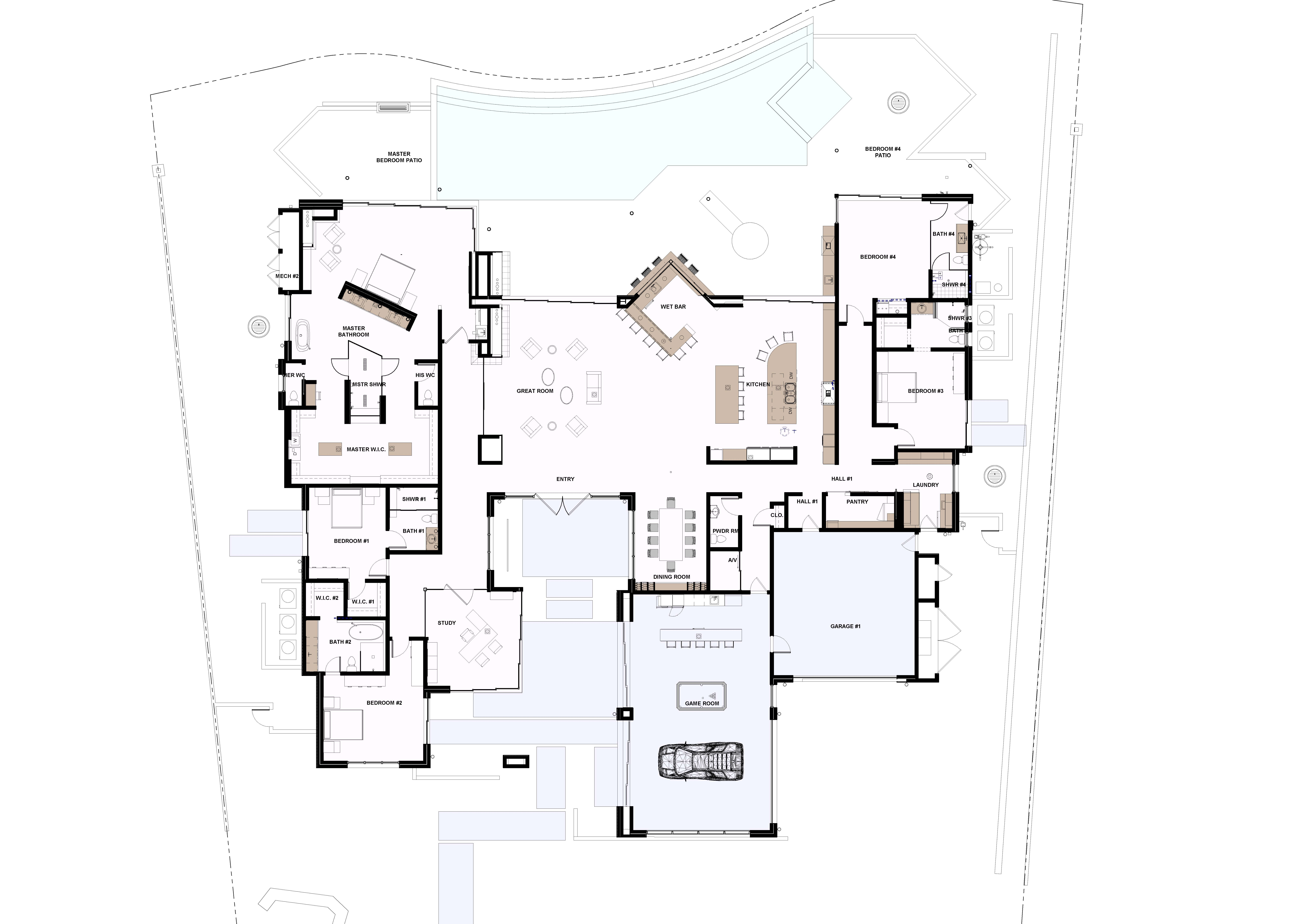 2019 The New American Home Floor Plan | The New American Home Architectural Bath Home Floor Plans on architectural home design, architectural luxury homes, architectural home decor, architectural home interiors, architectural digest home plans, architectural home blueprints, architectural home details, architectural home photography, architectural kitchen plans,