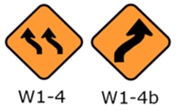 Figure 2a MUTCD sign