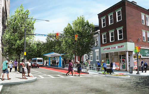 Pittsburgh's BRT in rendering.