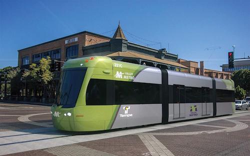 Valley Metro light-rail streetcar