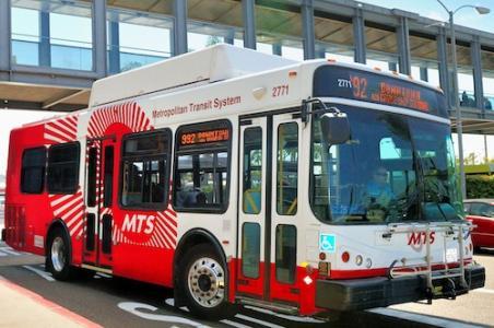 San Diego Metropolitan Transit System; bus transit