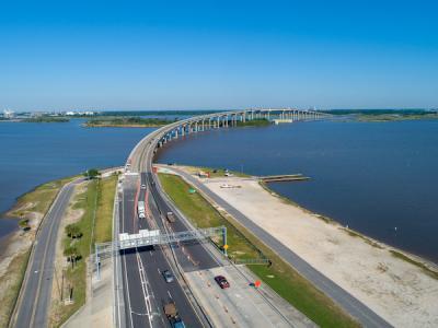 Israel LaFleur Bridge led to an increase of traffic congestion along I-210, I-10, and the surrounding area.
