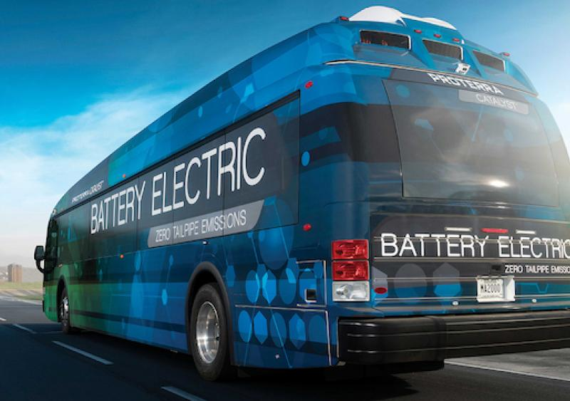 Electric bus; advanced bus technologies
