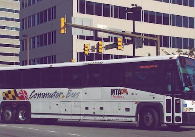 Maryland Transit Administration; commuter bus