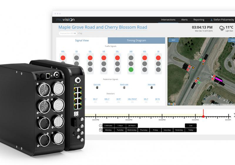 Spectrum, from Miovision, is an intelligent transportation system