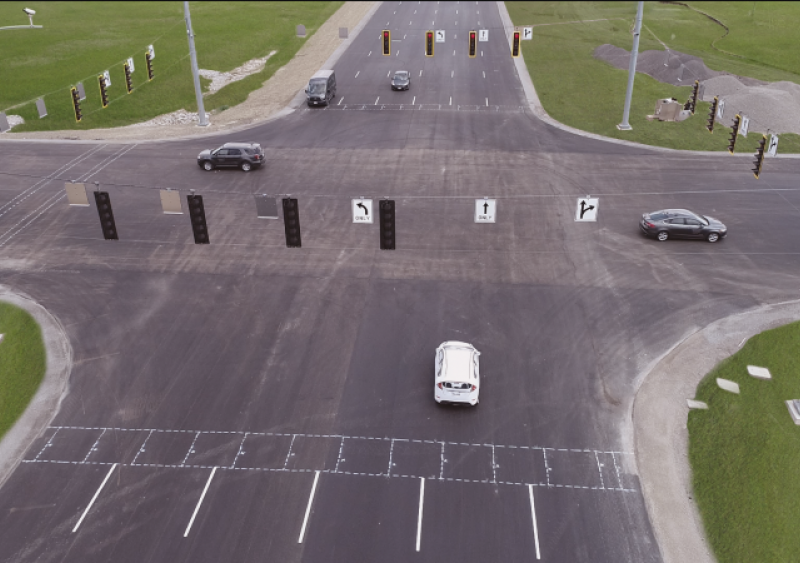 Ohio SMART Center driverless test track opens