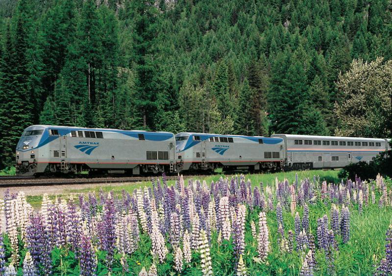 Amtrak rail service
