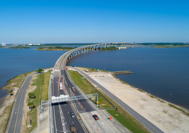 Israel LaFleur Bridge led to an increase of traffic congestion along I-210, I-10, and the surrounding area.