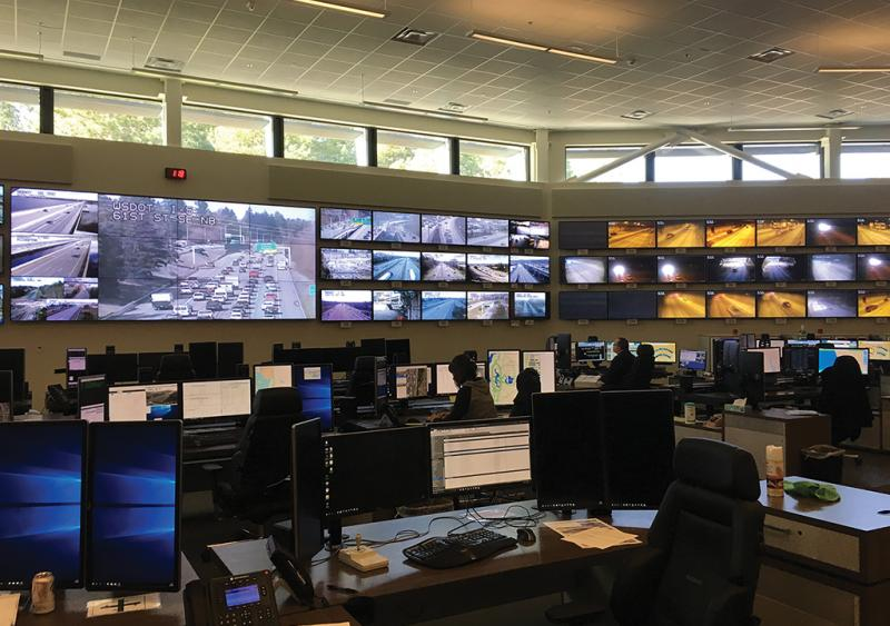 WSDOT traffic management centers