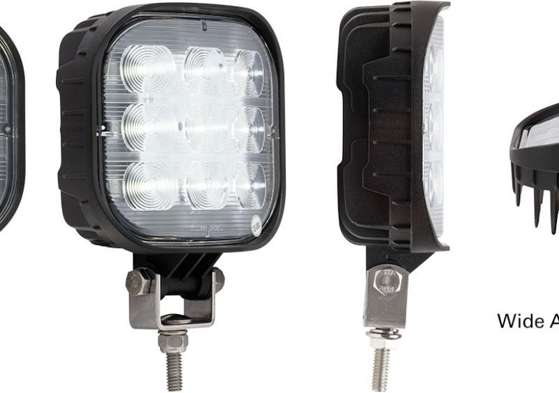 The Opti-Brite Wide-Angle LED Work Lamps from Optronics International